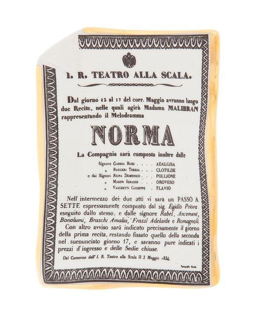 FORNASETTI | Серый Norma Ashtray