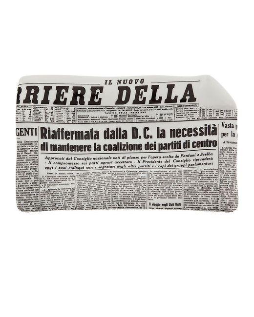 FORNASETTI   Серый Ii Corriere Della Sera Ashtray