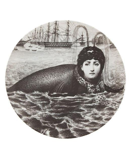 FORNASETTI   Серый Printed Plate