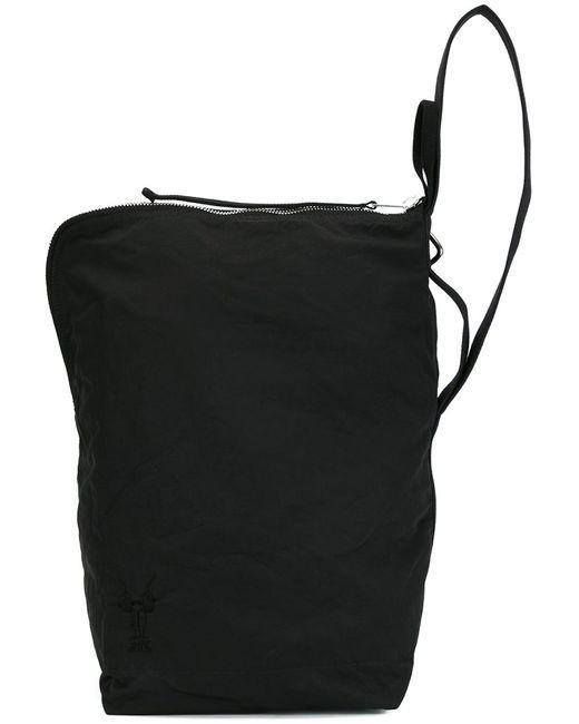 RICK OWENS DRKSHDW | Мужское Чёрный Small Print Messenger Bag Cotton/Nylon