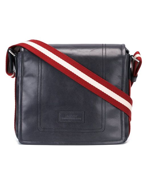 Bally   Мужское Серый Messenger Bag Calf Leather