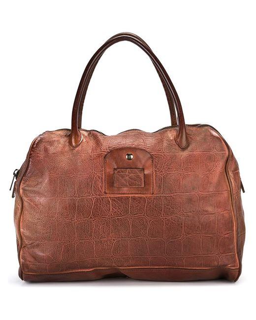 Numero 10 | Мужское Коричневый Monzeglio Holdall Leather