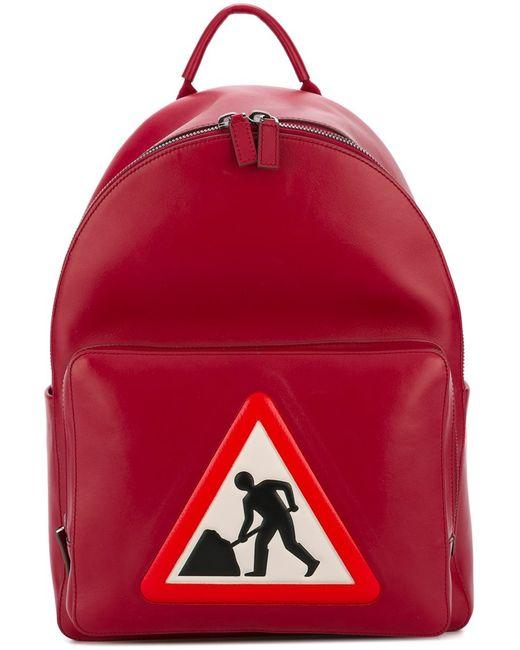 Anya Hindmarch | Мужское Красный At Work Backpack Leather
