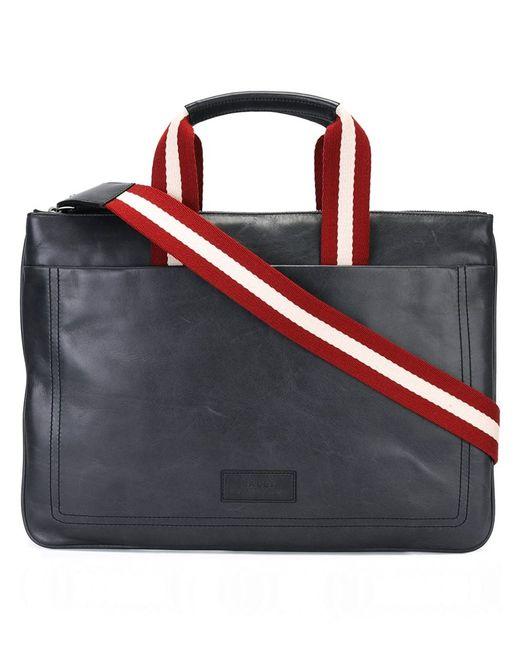 Bally | Мужское Серый Large Messenger Bag Calf Leather