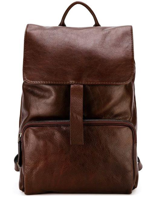 ZANELLATO | Мужское Розовый Buckled Backpack Calf Leather