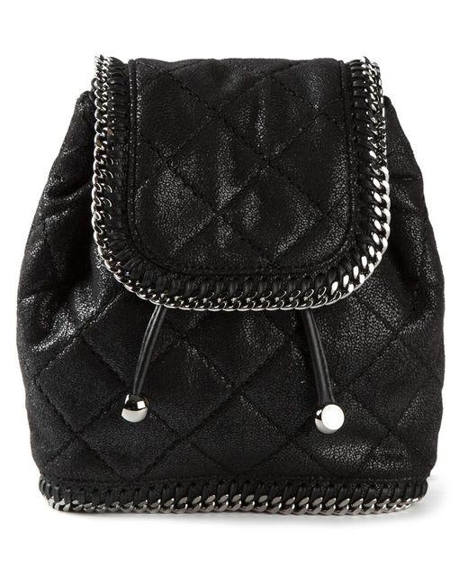 Stella Mccartney | Женское Чёрный Falabella Quilted Backpack
