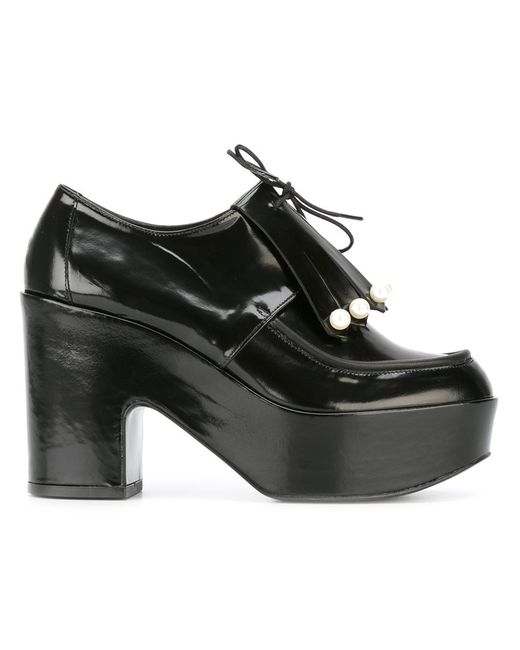 Robert Clergerie | Женское Чёрный Vally Pumps 38 Leather/Rubber