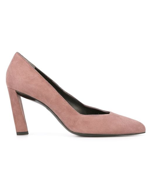 Robert Clergerie | Женское Серый Quoli Pumps 39 Goat Skin/Leather/Suede
