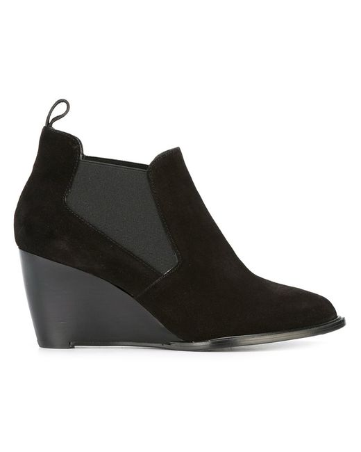 Robert Clergerie | Женское Чёрный Olav Boots 37.5 Leather/Suede