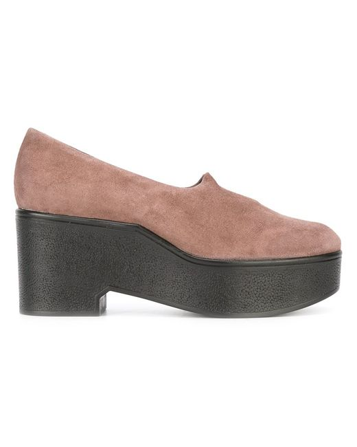 Robert Clergerie | Женское Розовый Xalo Pumps 36 Leather/Suede/Rubber