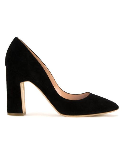 Rupert Sanderson | Женское Чёрный Lynette Pumps 36 Leather/Suede