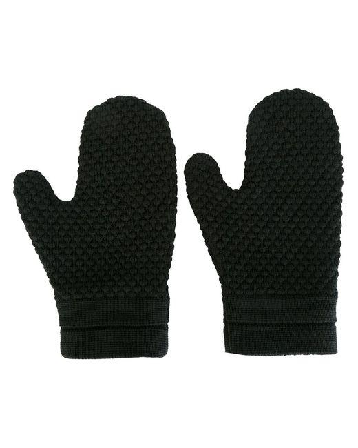 S.N.S. HERNING | Чёрный Final Mittens Medium Merino/Virgin Wool