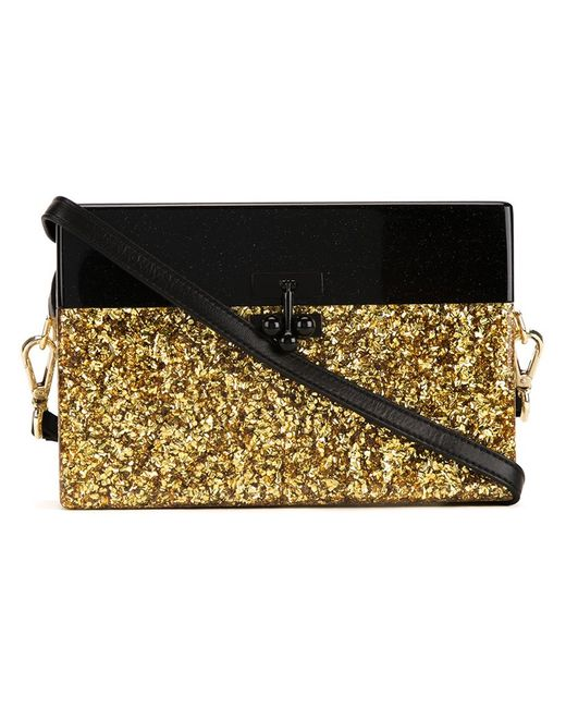 EDIE PARKER | Женское Серебристый Small Trunk Half Half Crossbody Bag
