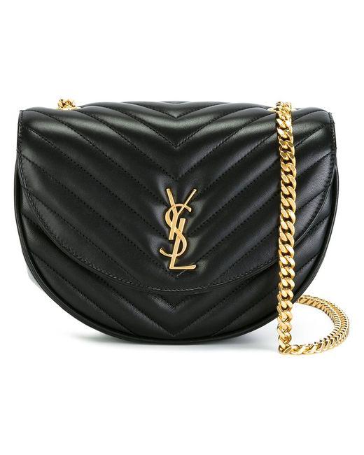 Saint Laurent | Женское Чёрный Monogram Bubble Crossbody Bag