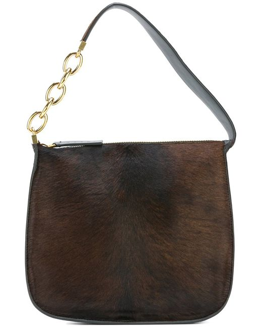 Marni | Женское Коричневый Pony Hair Shoulder Bag