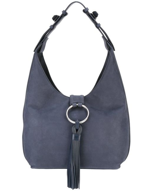 Tory Burch | Женское Синий Tassel Detail Shoulder Bag