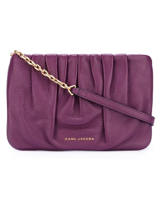 Marc Jacobs   Женское Розовый Gathered Crossbody Bag
