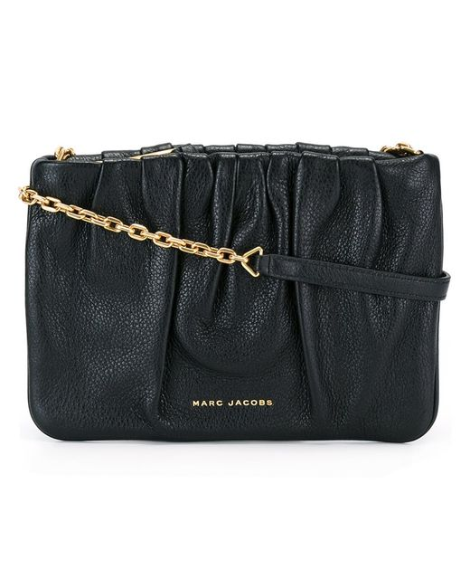 Marc Jacobs   Женское Чёрный Gathered Crossbody Bag