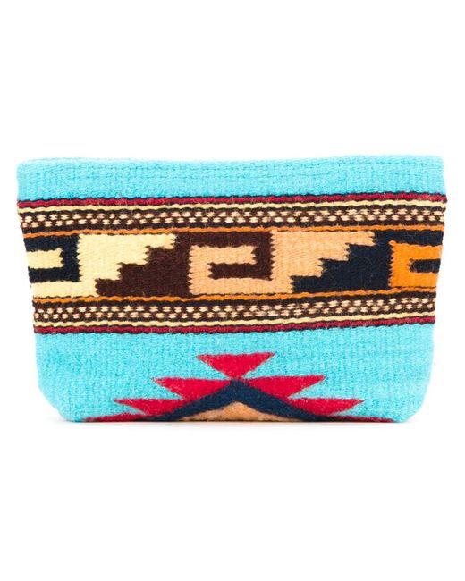 Manos Zapotecas | Женское Синий Aztec Clutch