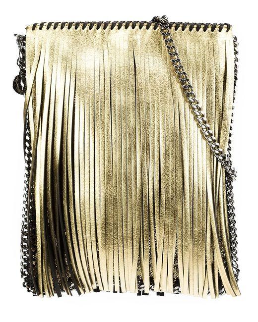 Stella Mccartney   Женское Серебристый Falabella Flat Crossbody Bag