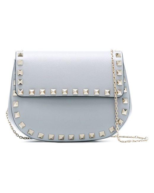 Valentino | Женское Серый Rockstud Crossbody Bag