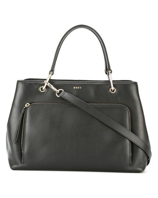 DKNY   Женское Чёрный Zip Pocket Tote