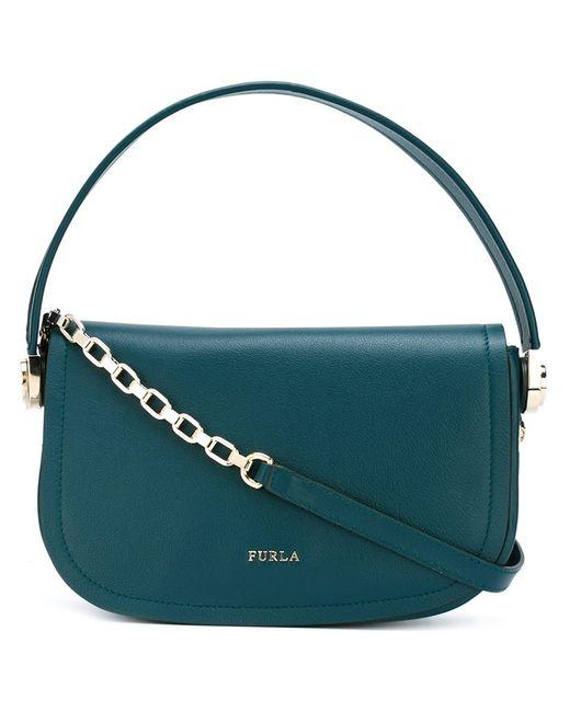 Furla   Женское Зелёный Chain Strap Saddle Bag