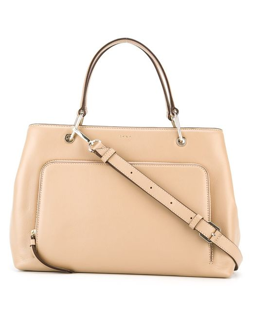 DKNY | Женское Nude/Neutrals Zip Pocket Tote