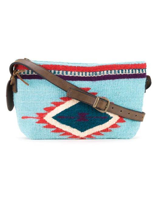Manos Zapotecas | Женское Синий Aztec Shoulder Bag