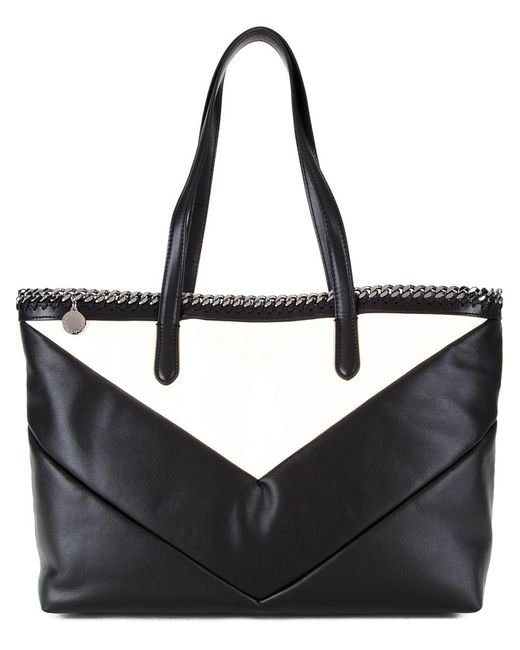 Stella Mccartney | Женское Чёрный Falabella Open Top Tote