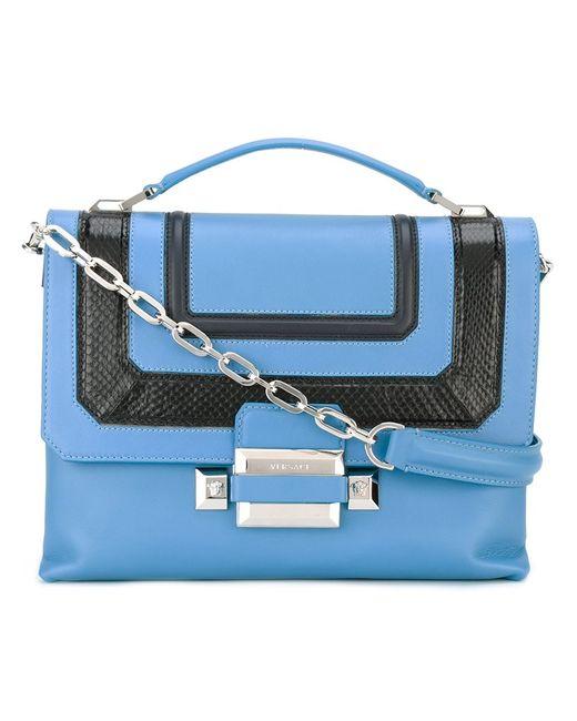 Versace   Женское Синий Ryder Shoulder Bag