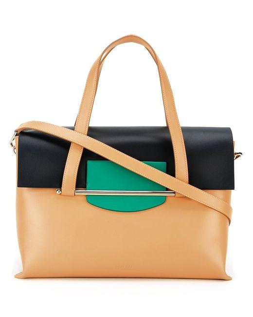 Delpozo   Женское Коричневый Medium Tote Bag