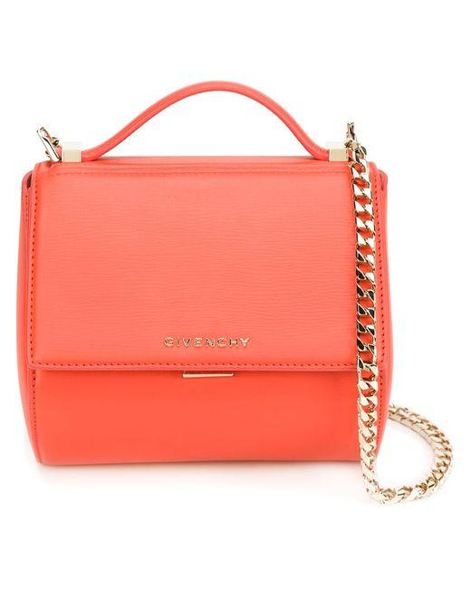 Givenchy | Женское Желтый Mini Pandora Box Shoulder Bag