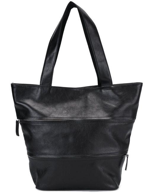 Yohji Yamamoto | Женское Чёрный Zipper Tote