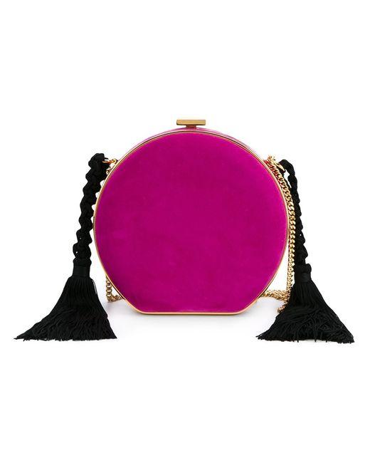 Alessandra Rich   Женское Розовый Tasselled Round Clutch