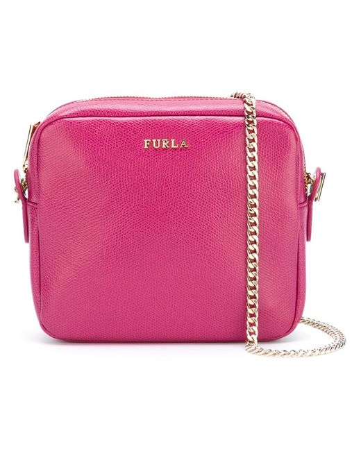 Furla | Женское Розовый Chain Strap Crossbody Bag