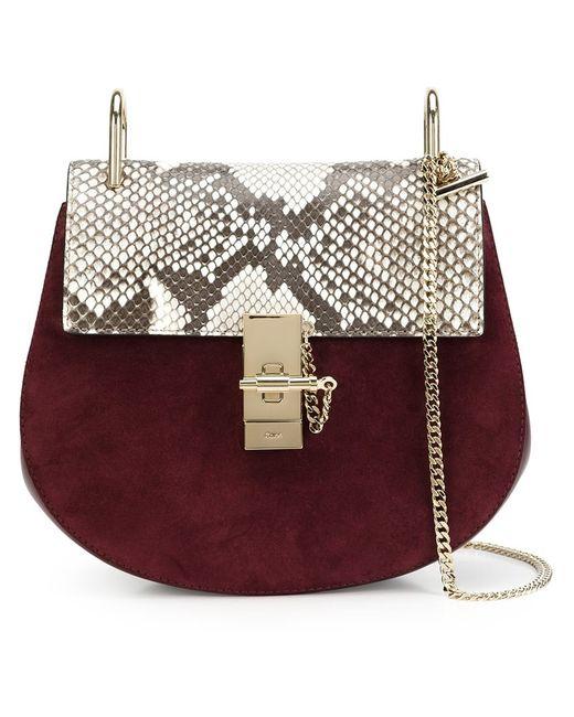 Chloe | Женское Розовый Chloé Drew Shoulder Bag