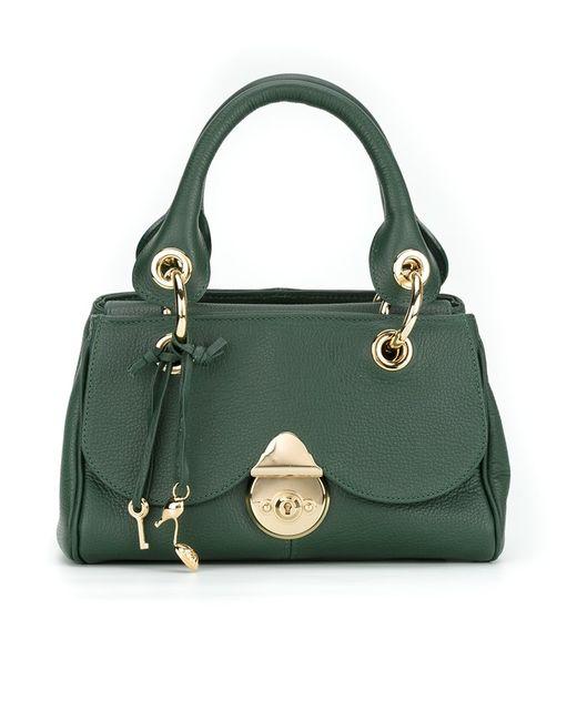 Sarah Chofakian   Женское Зелёный Leather Bag