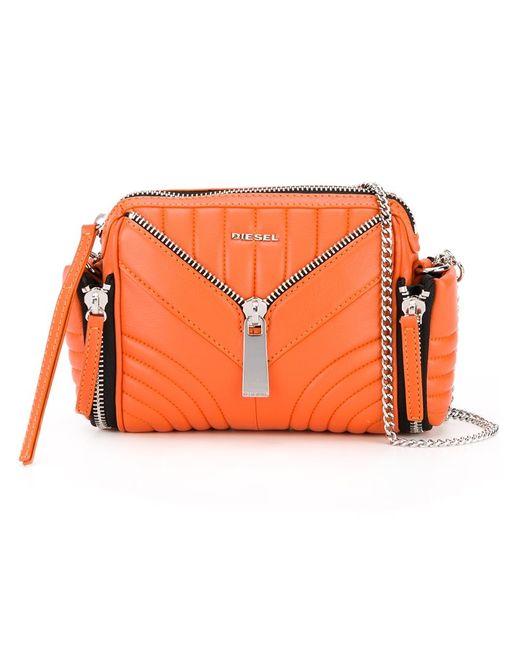 Diesel | Женское Желтый Chain Strap Cross-Body Bag