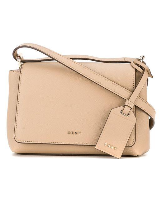 DKNY | Женское Nude/Neutrals Flap Crossbody Bag