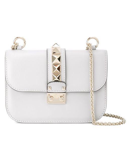 Valentino | Женское Синий Small Glamlock Shoulder Bag