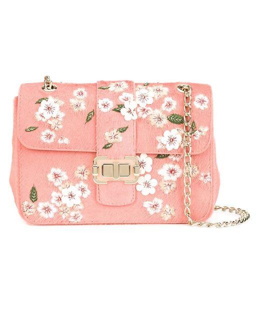 Monique Lhuillier   Женское Розовый Bianca Shoulder Bag