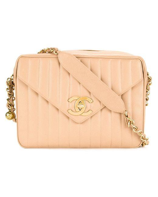 Chanel Vintage | Женское Коричневый Quilted Jumbo Shoulder Bag
