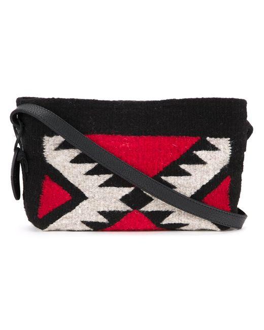 Manos Zapotecas | Женское Чёрный Aztec Shoulder Bag