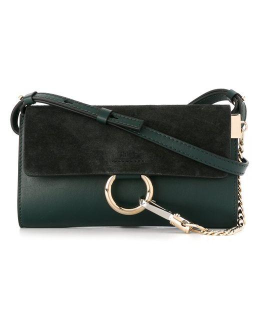 Chloe | Женское Зелёный Chloé Nano Faye Shoulder Bag