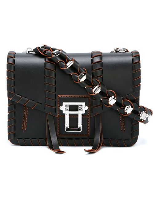 Proenza Schouler   Женское Коричневый Hava Whipstitch Shoulder Bag