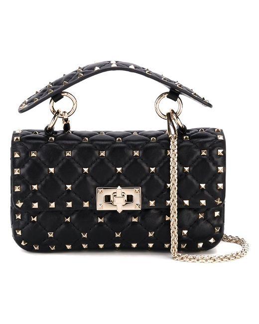 Valentino | Женское Чёрный Rockstud Spike Shoulder Bag