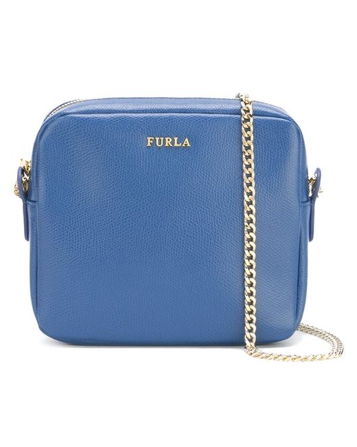 Furla | Женское Синий Chain Strap Crossbody Bag