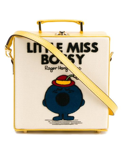Olympia Le-Tan | Женское Желтый Little Miss Bossy Shoulder Bag