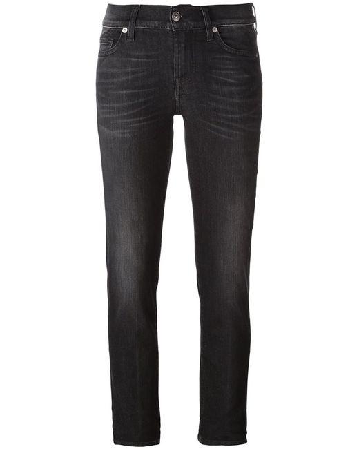7 for all mankind | Женское Чёрный Roxanne Skinny Jeans 28